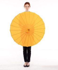 sombrilla-naranja-claro